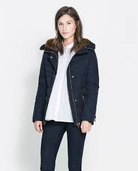 Image 2 of SHORT QUILTED JACKET WITH HOOD from Zara | Seattle ... & Image 2 of SHORT QUILTED JACKET WITH HOOD from Zara Adamdwight.com