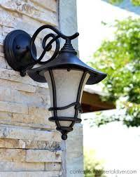 outdoor light fixture how to spray paint outdoor light fixtures without taking them down outdoor light