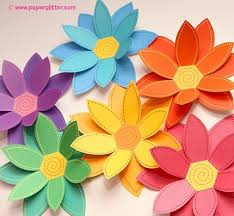 Flower Out Of Paper Decorating With Paper Flowers Thoughtfully Simple
