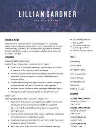 Modern Resume Template Free Download Word 40 Modern Resume Templates Free To Download Resume Genius