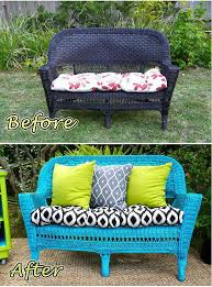 vintage wicker patio furniture. Transform An Old, Outdated Wicker Chair Into A Great Patio Piece. Vintage Furniture I