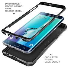 Galaxy S6 Edge Plus Unicorn Beetle Pro Rugged Holster Case-Black/Black Case | SupCase.com