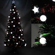 Home Accents Holiday 7 Ft PreLit LED Benjamin Fir QuickSet 6 Foot Christmas Tree With Lights