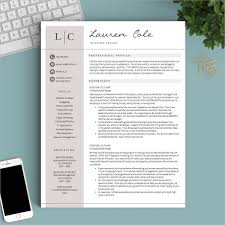 Modern Resume Design Magnificent 60 Modern Resume Templates PDF DOC PSD Free Premium Templates