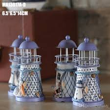 Small Picture 14cm Mediterranean Style Home Decor Lighthouse Iron Wedding