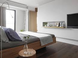 Modern simple and elegant bedroom TV backdrop Interior Design