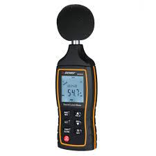 Decibel Meter With Warning Light Sound Level Meter Decibel Meter Sonometros Digital 30 130 Db Noise Meter Noisemeter With Time Display And Warning Function