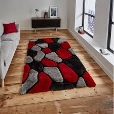 noble house nh 5858 grey red rug by think rugs 1