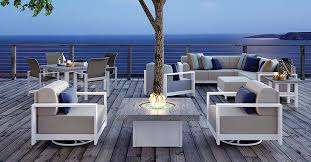 modern outdoor patio furniture. Gracie Aluminum Outdoor Furniture Modern Patio L
