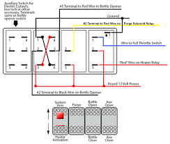 cute led 4 pin rocker switch wiring diagram images electrical