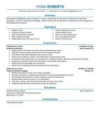Impactful Professional Transportation Resume Resume Examples