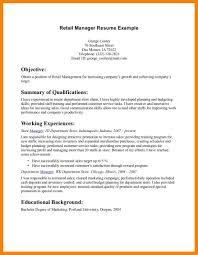 Store Manager Job Description Resume Commercial Manager Job
