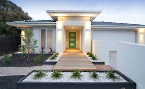 Small Picture Small modern house garden design