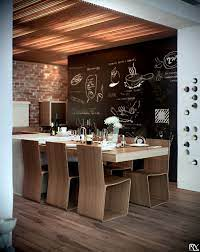 kitchen diner chalkboard wall