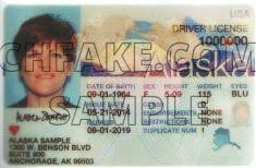 Identification Id Fake Buy Alaska Scannable