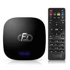 Akıllı TV kutusu A95X F1 TV kutusu Android 8.1 Amlogic S905W dört  çekirdekli 2GB16GB desteği 4K 2.4GHz WiFi medya oynatıcı seti Top Box  Youtube|Set-top Boxes