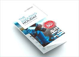 Free Two Fold Brochure Template Illustrator Brochure Templates Unique Fold Template Bi Adobe