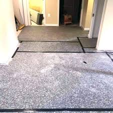 how to install carpet tiles on concrete installing floor over nails transit