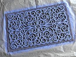 front door matSpray Painted Door Mats  Organize and Decorate Everything
