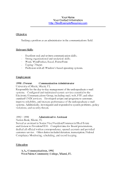 Sample Resume Communication Skills Resume Communication Skills Resume Badak 6