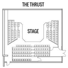 Stage 773 Seating Chart Stage 773 Thrust Seating Chart