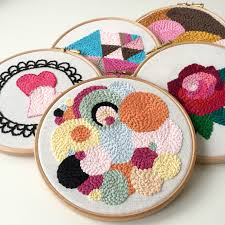 Punch Needle Embroidery Patterns Free Awesome Inspiration Design