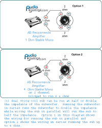 subwoofer wiring diagrams dual voice coil Dual 1 Ohm Sub Wiring Diagram dvc sub wiring diagram dvc 1 ohm wiring diagram
