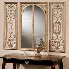 mirror long. wall mirrors touch of class, lovable long gold arched mirror | federto intended for