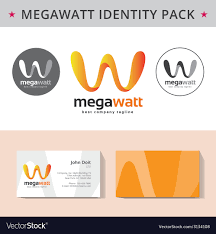 Company Id Design Ideas Abstract Letter W Identity Pack Concept Logo Visit
