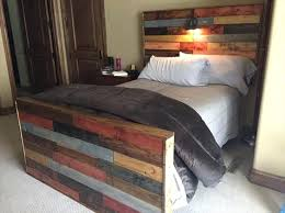 diy queen headboard queen size bed frame with pallets inspirational best pallet beds images on diy queen headboard and footboard