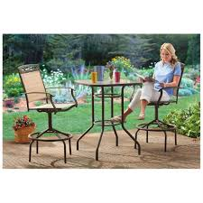 Small Outdoor Table Set Uncategorized Patio Furniture Bar Height Table And Chairs Black