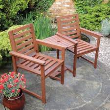 table bench patio set love seat solid