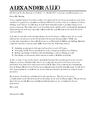 Paraeducator Cover Letter Best Bus Driver Cover Letter Examples Livecareer