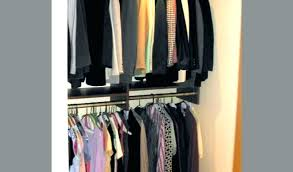 double rod closet organizer by dimensions whitmor freestanding assembly instructions close