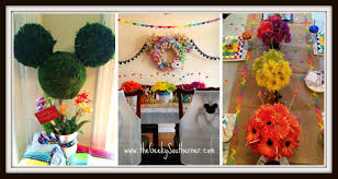 Disney Theme Decorations 2015 Disneyside Party The Art Of Disney The Geeky Southerner