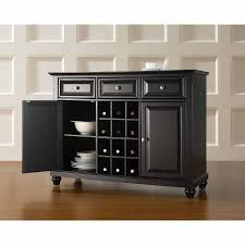 Crosley Furniture Cambridge Buffet Server and Sideboard Cabinet