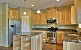 Kitchen Colors With Light Wood Cabinets New Design Inspiration