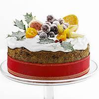 Classic winter fruit cake