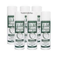 vinyl flooring spray adhesive