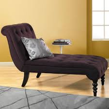 Small Chaise Longue For Bedroom Living Room Beige Leather Storage Chaise Lounge Chair With Cream