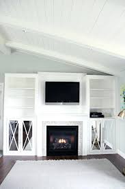 diy fireplace built ins organizing fireplace built in out fireplace part for bench seat in middle