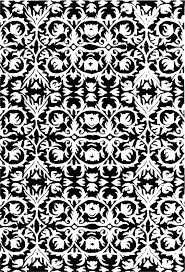 black and white damask bathroom rug area rugs image of best contemporary black and white damask