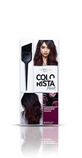 Hair Hair Colourants Wash In Wash Out Colorista Washout Burgundy Semi Permanent Hair Dye P