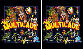 image is loading mame multicade clics side art arcade cabinet graphics