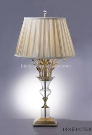 bronze table lamps fancy with shade imitate flower vase crystal elegant