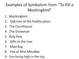 to kill a mockingbird symbolism ppt video online  examples of symbolism from to kill a mockingbird