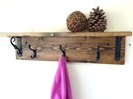 30 Coat Rack Extraordinary Mesmerizing Coat Rack With Shelf 32 Hanger Wooden Rustic Home And