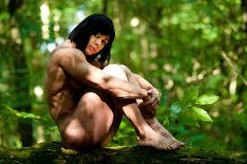 Rene Campbell Art Nude Woodland Photoshoot