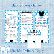 Mickey Mouse Baby Shower Invitations Party City Printable Free