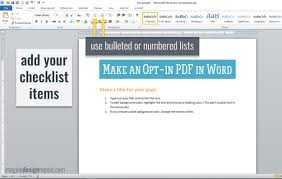 Checklist Template Word Check List In Word As Well How Do You Make A Checklist 2013 With